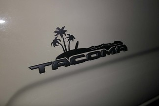 3rd Gen Tacoma Beach Vinyl decal