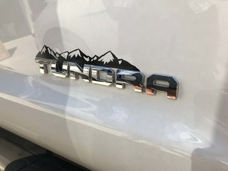 3rd Gen Tundra Mountain Decal, Tundra Mountain Decal, tundra decal, tundra badge decal, Tundra Finshing decal, Tundra Hunting decal