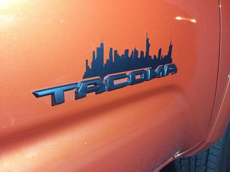 3rd Gen Toyota Tacoma City Decal