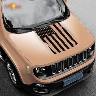 Jeep Renegade Flag Decal Jeep Sticker