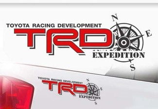 Toyota TRD Truck Off-Road Racing Tacoma Tundra Expedition Vinyl Sticker Decal