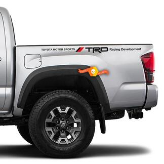 Toyota TRD TUNDRA Tacoma Racing Vinyl Decal Sticker 2 sides Bed Truck Decals