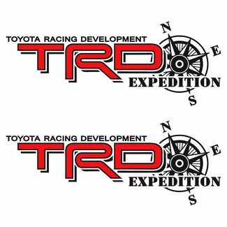 Toyota TRD Truck Off Road Racing Tacoma Tundra Expedition Vinyl Sticker Decals f