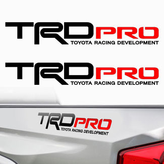 TRD PRO Toyota Tacoma Tundra Racing Decals Stickers Graphic Cut Vinyl R