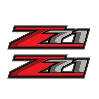 Set of 2: Z71 decal sticker for 2017 Chevrolet Silverado GMC Sierra pickup truck