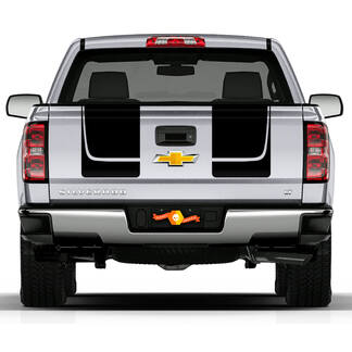 Chevy Silverado Rear Tail Stripe Vinyl Decals Graphics stickers RALLY 1500
