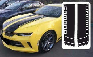 Hood Vinyl Graphics Decals Stripes for Camaro 2016 - 2018