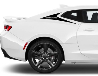 C-Pillar Accent Vinyl Graphics Decals Stripes for Camaro 2016 - 2018