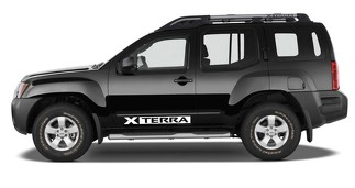 2X Nissan XTERRA Vinyl Doors logos Sticker Decals Graphics