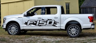 2x Ford F150 Raptor side large Vinyl Decals graphics rally sticker kit