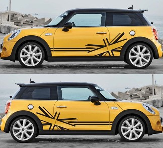 MINI Cooper Side Stripe Body Decal Sticker 2014-2018