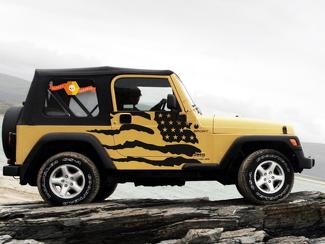 JEEP WRANGLER (1999-2006) CUSTOM VINYL DECAL KIT - PATRIOT