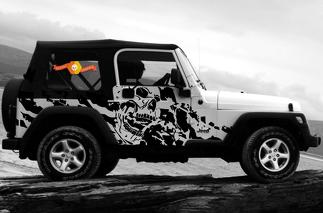 JEEP WRANGLER (1999-2006) CUSTOM VINYL WRAP KIT - NIGHTMARE