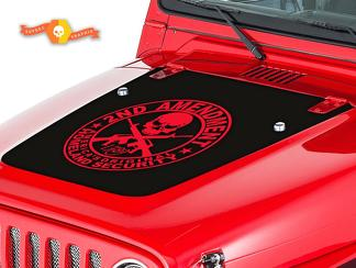 JEEP WRANGLER (1999-2006) CUSTOM VINYL HOOD DECAL KIT - AMENDMENT