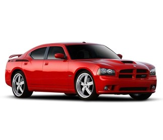 Daytona quarter panel accent side stripes decal set for Dodge Charger 2005-2010