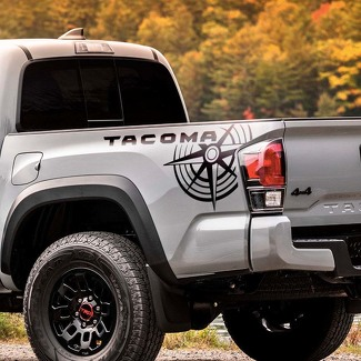 Toyota Tacoma TRD side bed graphics decal sticker model 6
