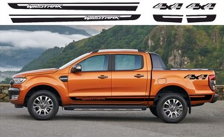 Ford Ranger Wildtrak 4x4 side Vinyl Decals graphics rally sticker kit