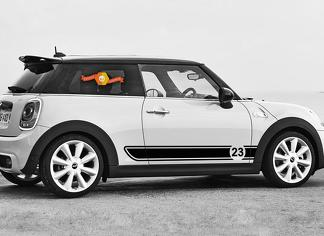 Category Mini Cooper Decals Stickers