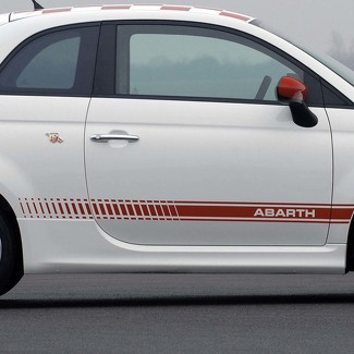 Fiat 500 ABARTH  Decal side Graphics stripes