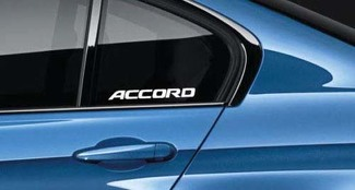 Accord Sticker Decal VTEC TURBO V6 JDM HONDA RACING EXL Pair