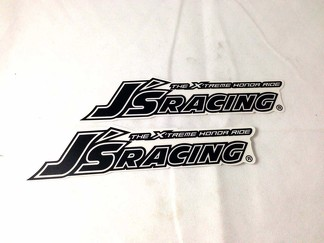 JDM J's Racing sticker decal honda integra civic s2000 dc2 eg6 ek9 js VIN PLATE