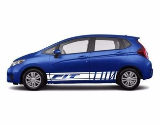2X Multiple Color Graphics Symbol Car Racing Vinyl Decal Sticker for Honda Fit