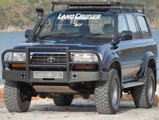 TOYOTA LAND CRUISER WINDSHIELD DECAL FJ80 FJ70 FJ60 4x4 Car Suv