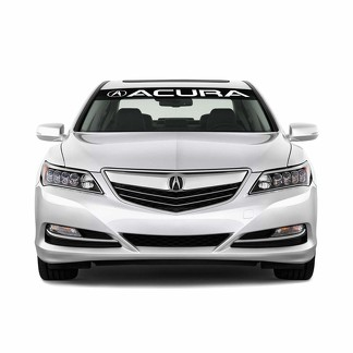 Acura Logo Windshield Vinyl Decal Sticker Emblem Vehicle Graphics
