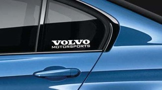 Volvo Motorsports Decal Sticker logo Sweden R XC90 XC60 V60 V90 New Pair