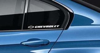 Chevrolet Sticker Decal Racing Amercian Chevrolet Chevy Truck SS Camaro Pair