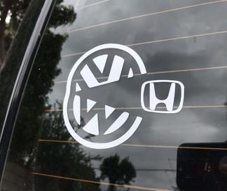 VW Pacman Aufkleber Aufkleber Volkswagen Mk2 Mk1 Mk3 Mk5 Mk4 Mk6 Mk7 Gti Jetta Golf