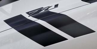 Silverado Chevrolet Hood Hash Marks Streifen 2007-2013 Aufkleber Aufkleber Vinyl