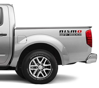 2X Nissan Frontier Vinyl Both Side Stickers Decals 4x4 Graphics nismo