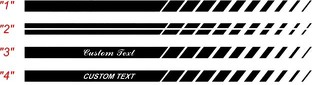 2008 & Up Challenger Strobe Style Rocker  Panel Stripe Kits