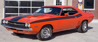 1970- 1974 Dodge Challenger 1971 Seitenstreifensatz im
