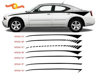 2006-2010 Charger Front Bodyline Stripe Kits