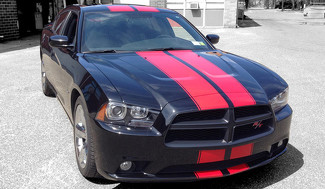 2015 & Up Dodge Charger 18 piece  Rally Stripe Decal Kit