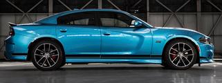 2015 & Up Dodge Charger SRT STyle Rocker Panel Streifen