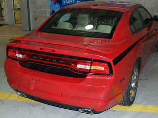 2011 - 2014 Charger Trunk Blackout Decal Kit