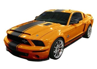 2005 & Up Ford Mustang Super Snake Style Rally Stripe Kit