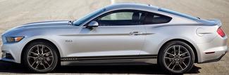 2015 & hoger Ford Mustang Rocker Panel Stripe Kits