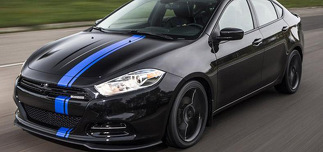 2013 & Up Dodge Dart Offset Style Rally Stripe Kit