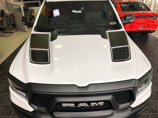 2019 & Up Dodge Ram Sport Hood Insert Decals