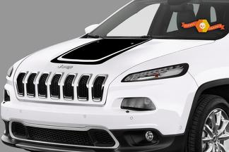 2017 & Up Jeep Compass Hood Decal
