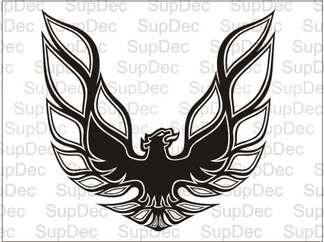 Firebird Trans Am Hood Bird Decal Graphic Any Color