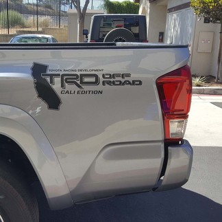 TOYOTA TACOMA TRD OFF ROAD BED DECAL STICKER TUNDRA TRUCK RACING DEVELOPMENT