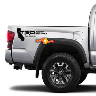 Toyota Tundra TRD OFF ROAD bed decal sticker Cali edition racing development