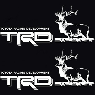 TOYOTA TACOMA TRD SPORT BED DECAL STICKER TUNDRA TRUCK RACING DEVELOPMENT