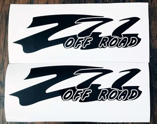 Chevy Z71 Off Road Body Decals New 2PC Set 14 Colors Silverado Tahoe Suburban