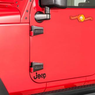 Jeep Wrangler distressed JEEP decal Multiple sizes